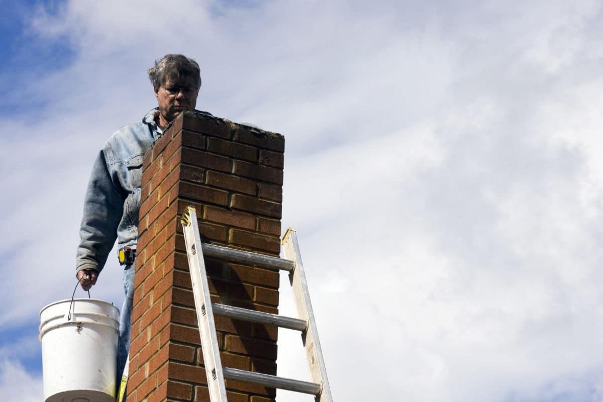 Reparatie schoorsteen